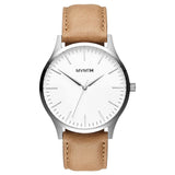 MVMT-Mens 40 Series White Caramel 40 mm-Watch-D-MT01-WT-THE UNIT STORE