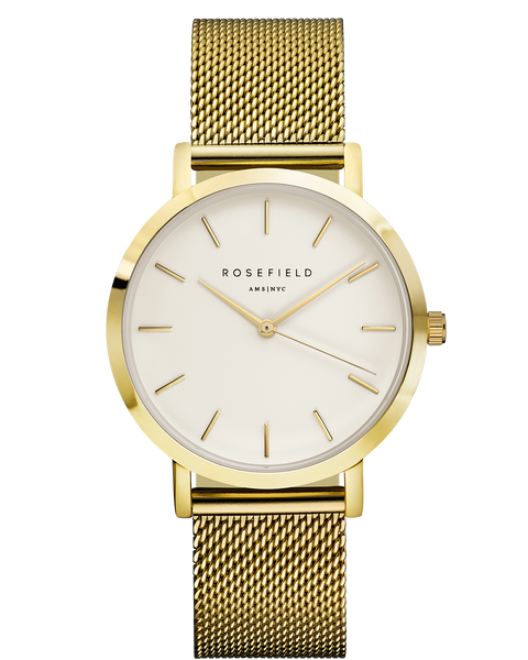 Rosefield-The Mercer White Gold-Watch-RF-MWG-M41-THE UNIT STORE