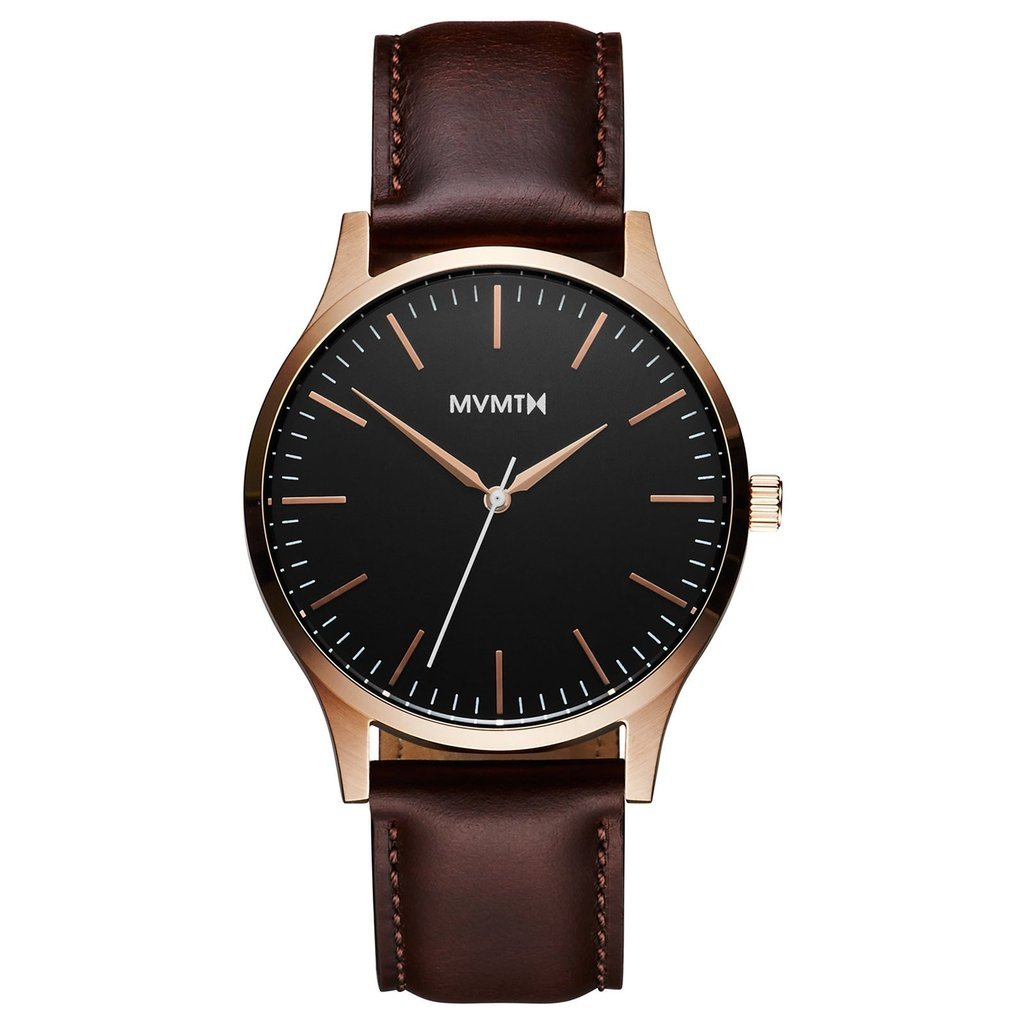 MVMT-Mens 40 Series Rose Gold Brown 40 mm-Watch-D-MT01-BLBR-THE UNIT STORE