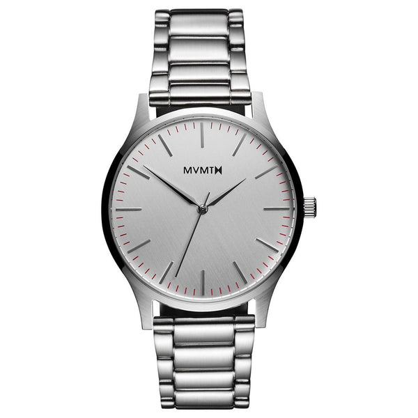 MVMT-Mens 40 Series Silver 40 mm-Watch-D-MT01-S-THE UNIT STORE
