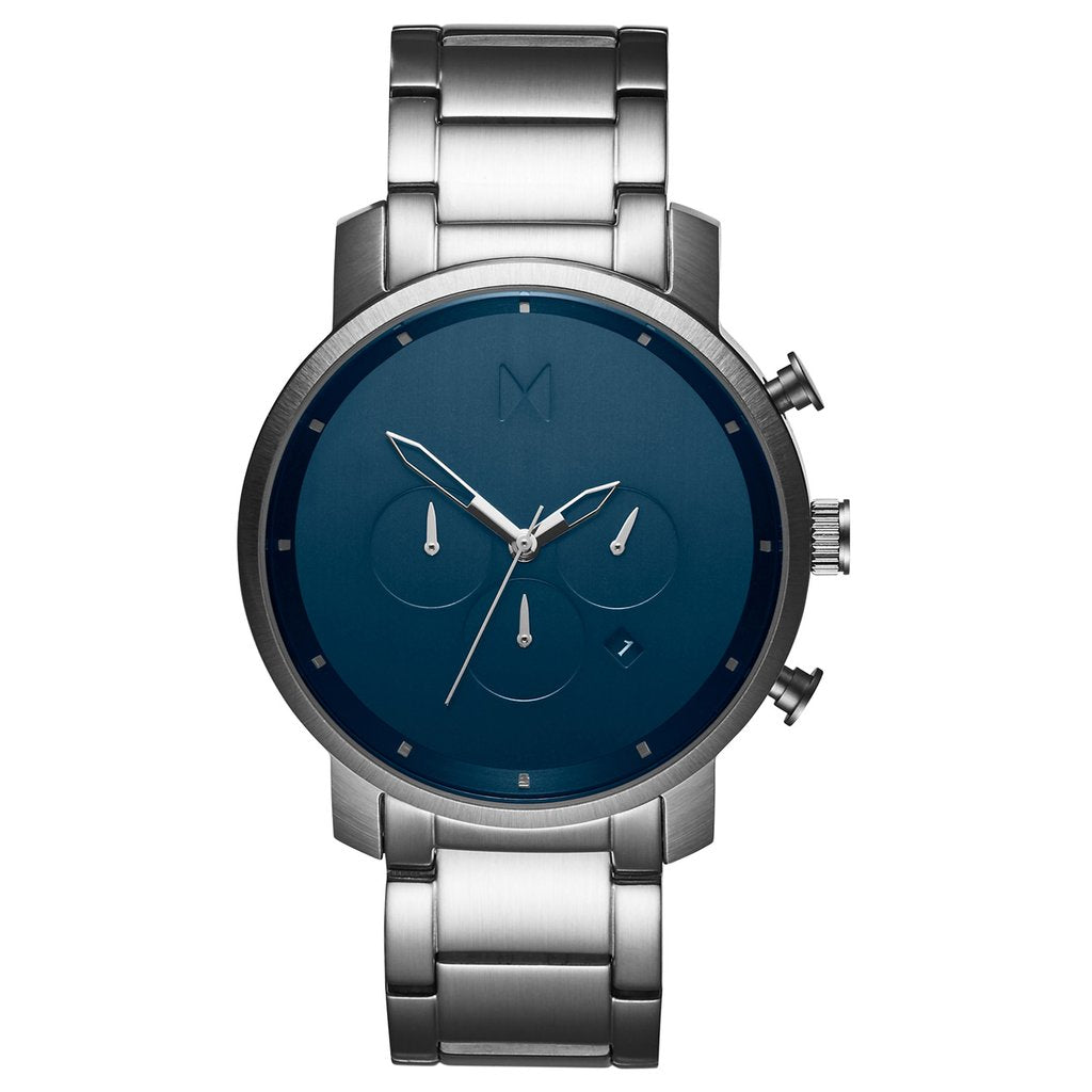 Mens Chrono Midnight Silver 45 mm__MVMT_Watch_THE UNIT STORE