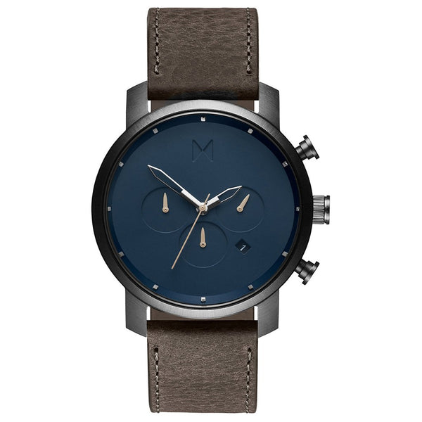MVMT-Mens Chrono Matte Blue Cedar 45 mm-Watch-D-MC01-SGR-THE UNIT STORE