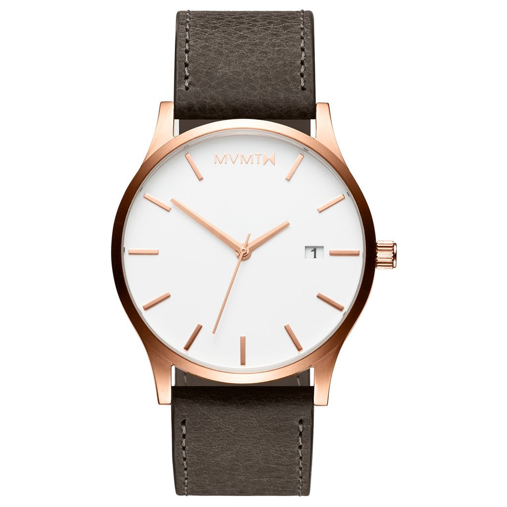 MVMT-Mens Classic Rose Gold Mushroom 45 mm-Watch-D-MM01-RGGR-THE UNIT STORE