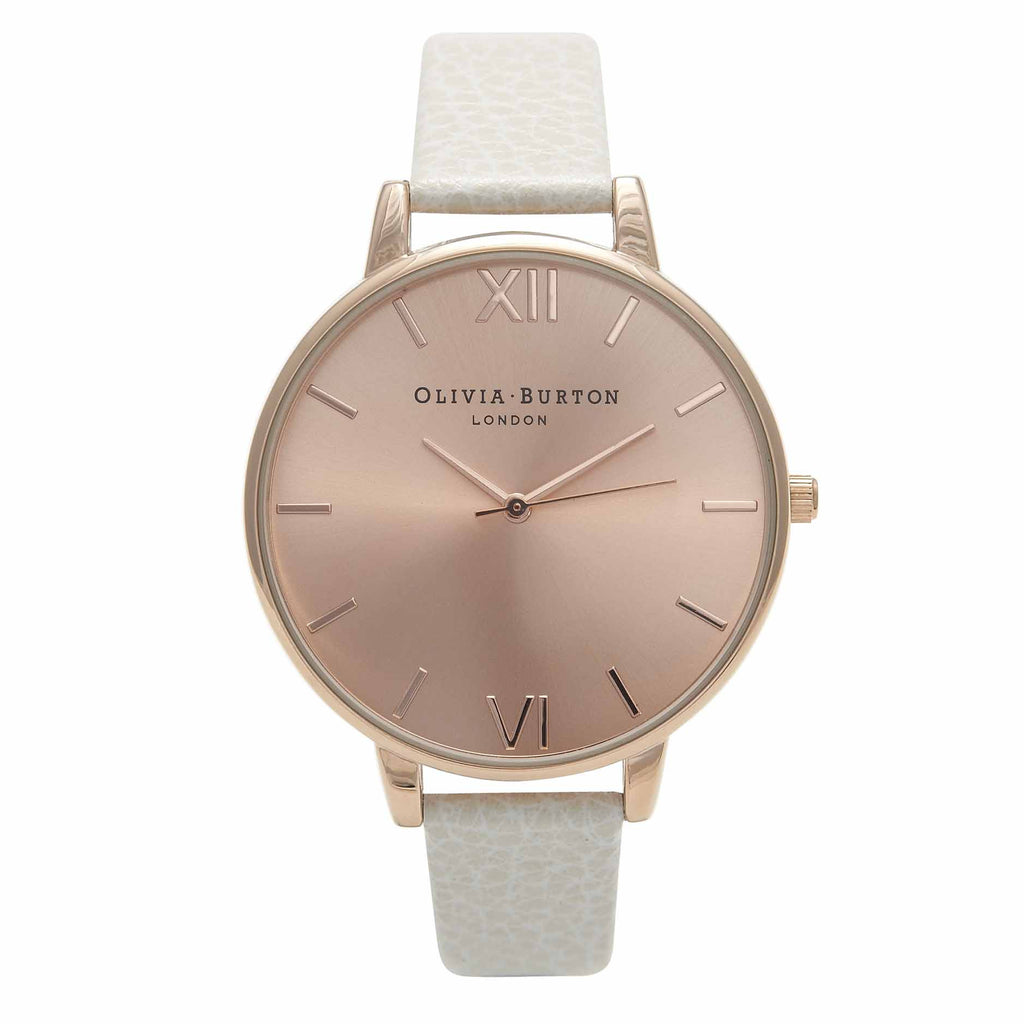 OLIVIA BURTON-Big Dial Mink & Rose Gold-Watch-OB13BD11-THE UNIT STORE