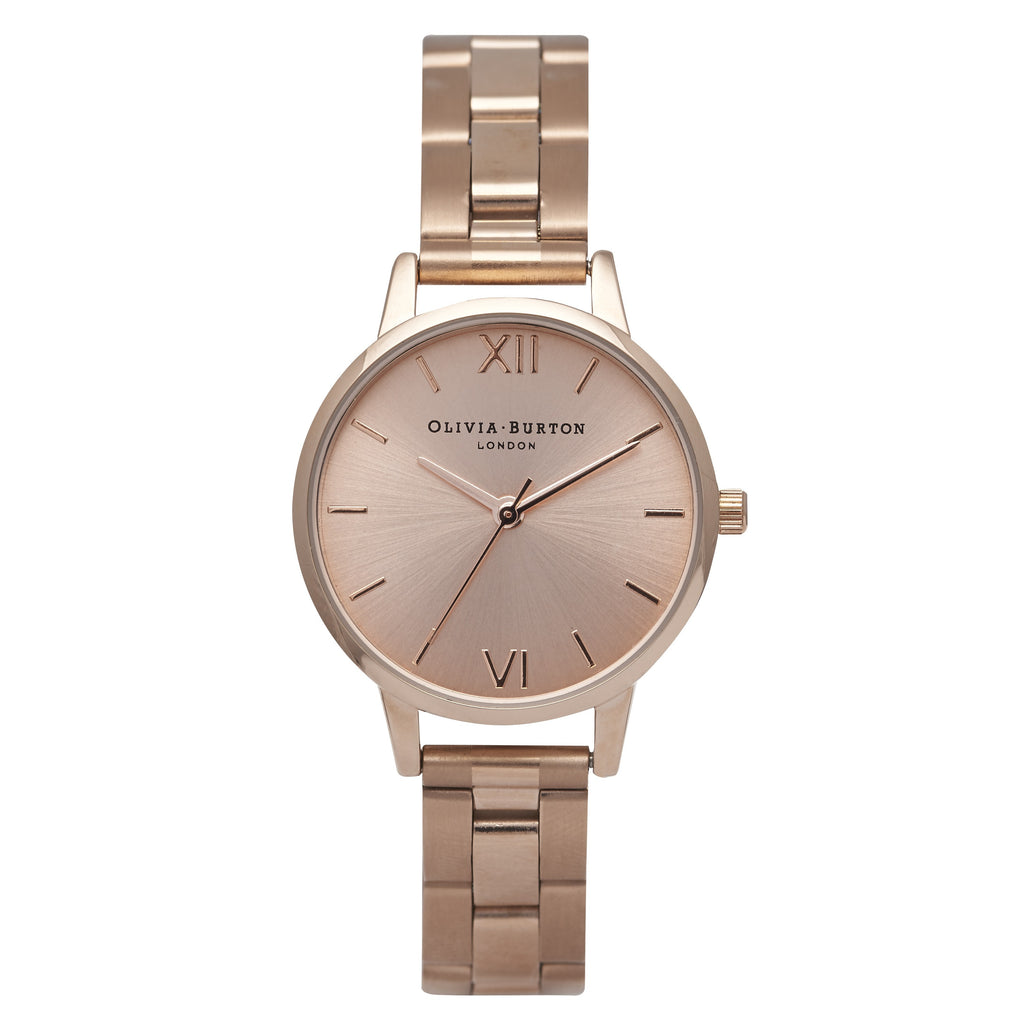 OLIVIA BURTON-Midi Dial Rose Gold Bracelet-Watch-OB13BL05B-THE UNIT STORE