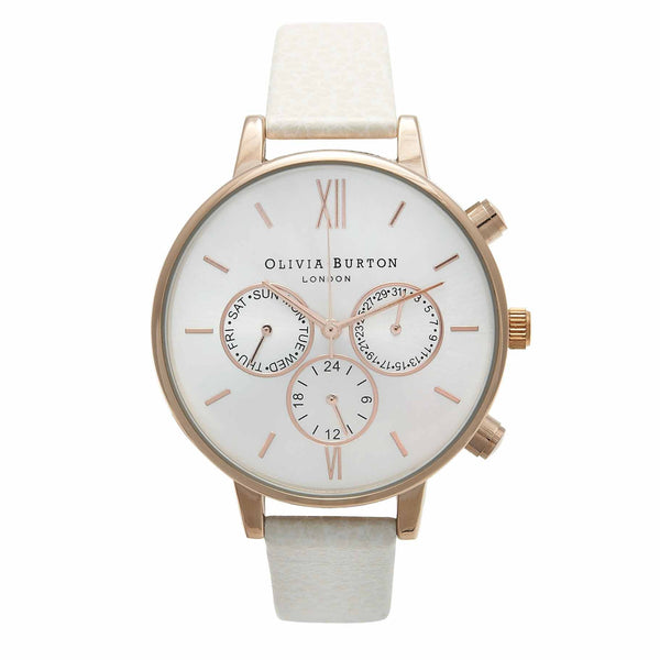 OLIVIA BURTON-Chrono Detail Mink & Rose Gold-Watch-OB13CG01C-THE UNIT STORE