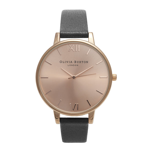 OLIVIA BURTON-Big Dial Black & Rose Gold-Watch-OB14BD27-THE UNIT STORE
