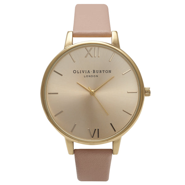 OLIVIA BURTON-Big Dial Dusty Pink & Gold-Watch-OB14BD31-THE UNIT STORE