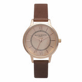 OLIVIA BURTON-Wonderland Brown & Rose Gold-Watch-OB14WD22-THE UNIT STORE