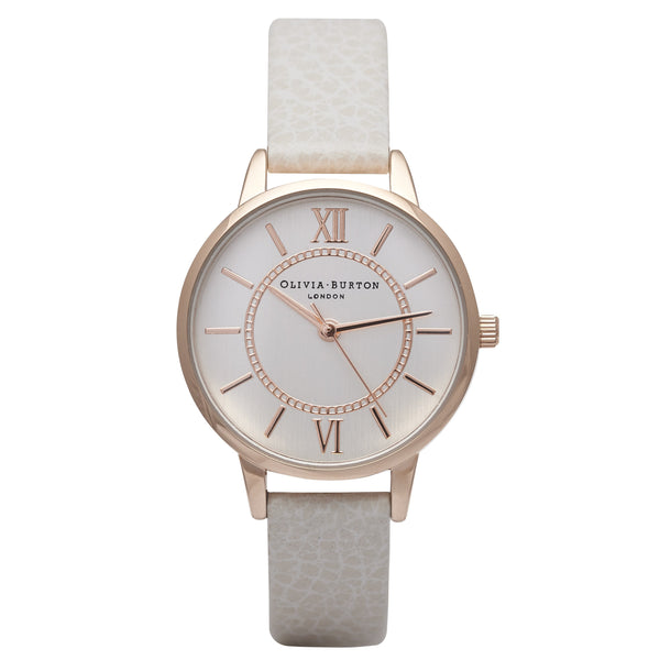 OLIVIA BURTON-Wonderland Mix Mink, Rose & Silver-Watch-OB14WD24-THE UNIT STORE