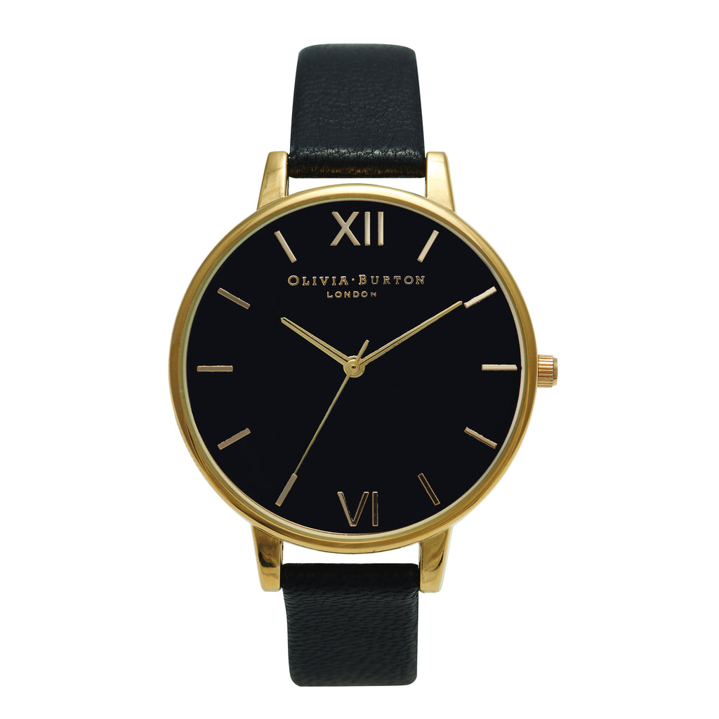 Big Dial Black Dial & Gold__OLIVIA BURTON_Watch_THE UNIT STORE