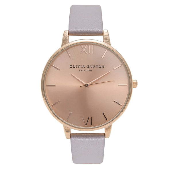 OLIVIA BURTON-Big Dial Grey Lilac & Rose Gold-Watch-OB15BD58-THE UNIT STORE