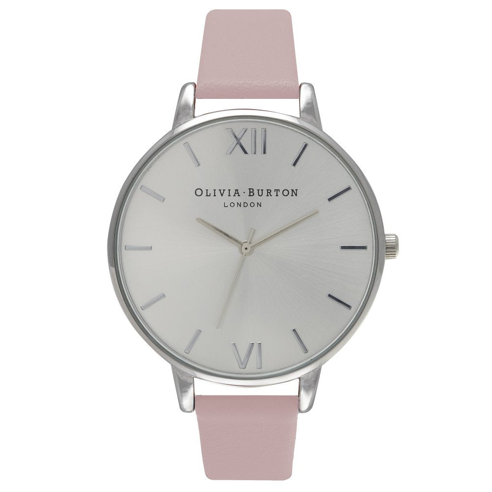 OLIVIA BURTON-Big Dial Dusty Pink & Silver-Watch-OB15BD59-THE UNIT STORE