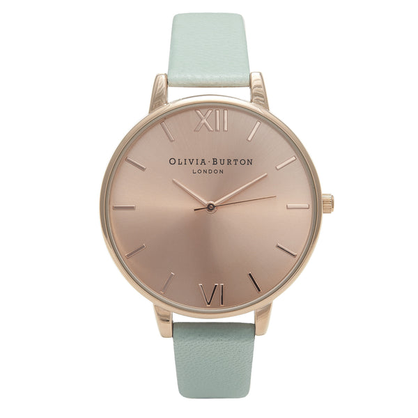 OLIVIA BURTON-Big Dial Mint & Rose Gold-Watch-OB15BD75-THE UNIT STORE