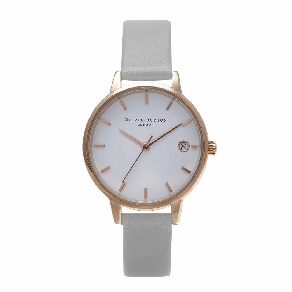 OLIVIA BURTON-The Dandy Grey & Rose Gold-Watch-OB15TD07-THE UNIT STORE