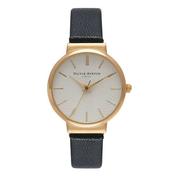 OLIVIA BURTON-The Hackney Black & Gold-Watch-OB15TH01-THE UNIT STORE
