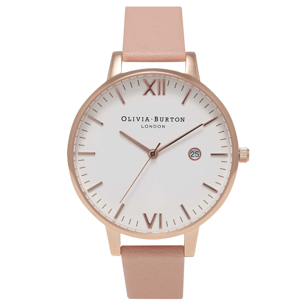 OLIVIA BURTON-Timeless Dusty Pink and Rose Gold-Watch-OB15TL02-THE UNIT STORE