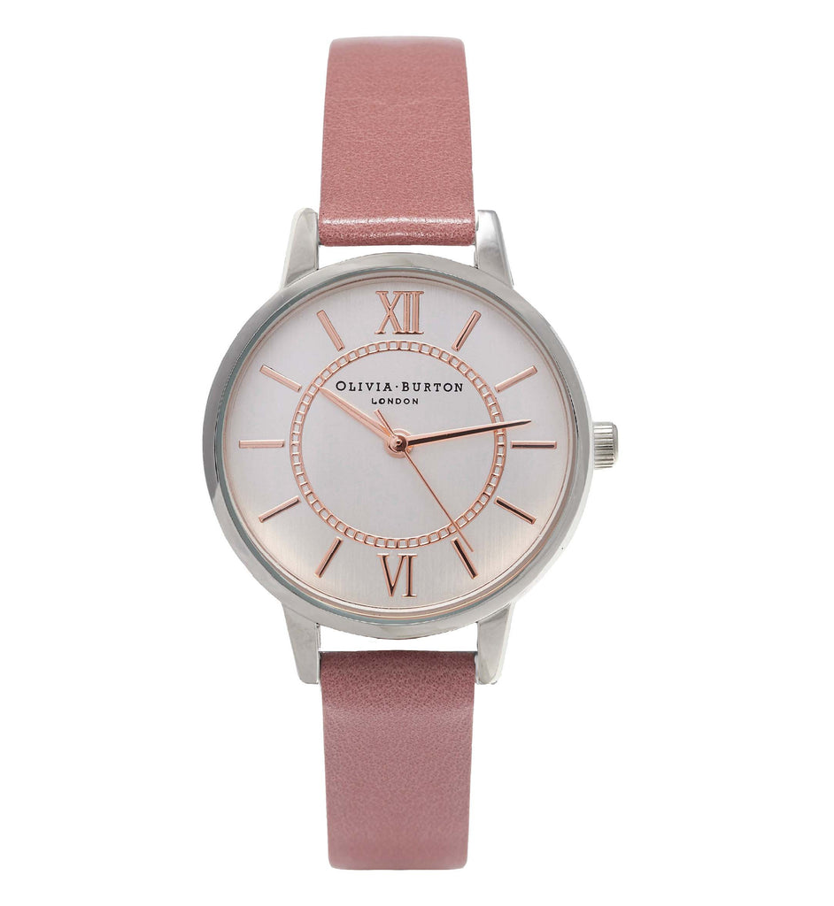 OLIVIA BURTON-Wonderland Rose, Silver & Rose Gold-Watch-OB15WD50-THE UNIT STORE