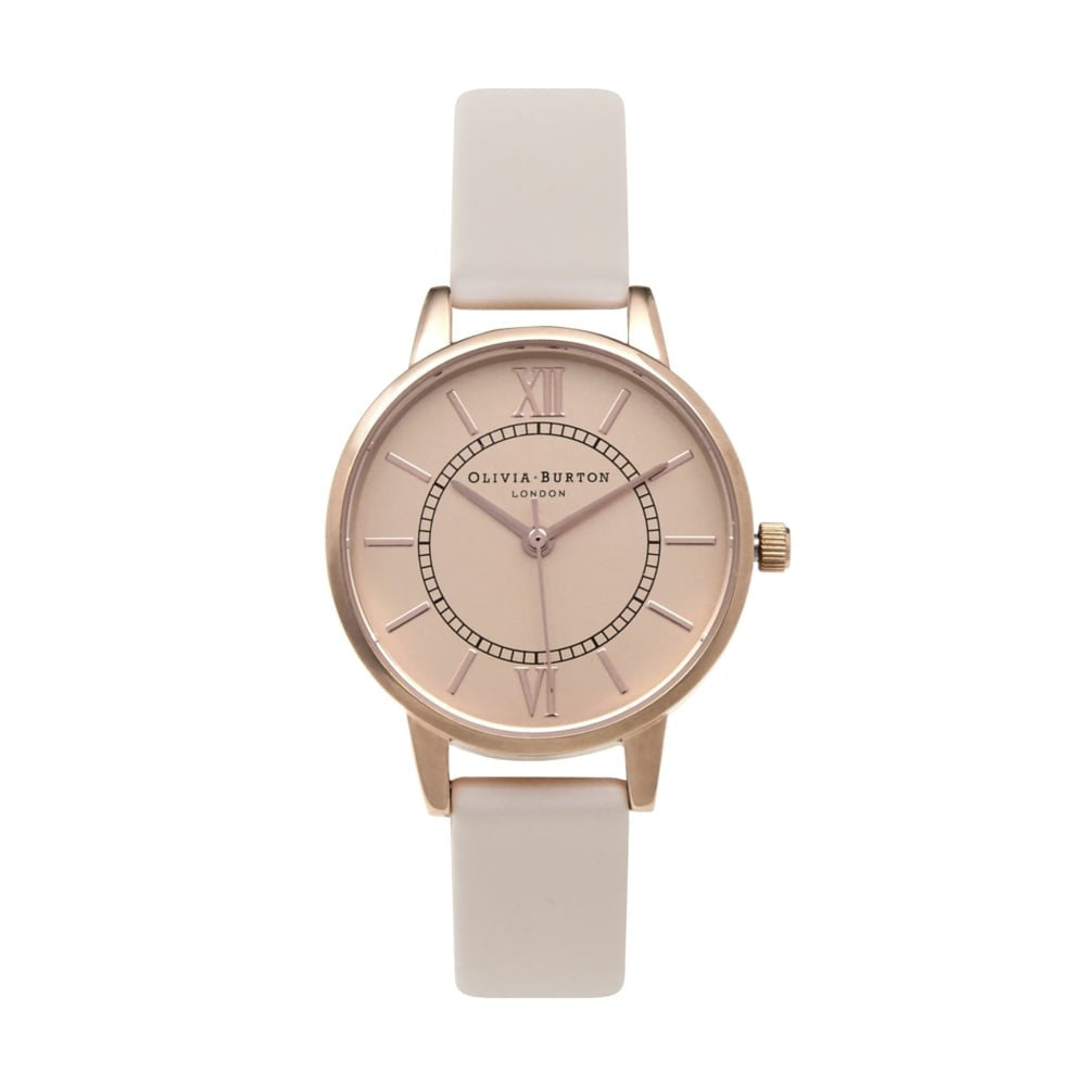 OLIVIA BURTON-Wonderland Blush & Rose Gold-Watch-OB15WD52-THE UNIT STORE