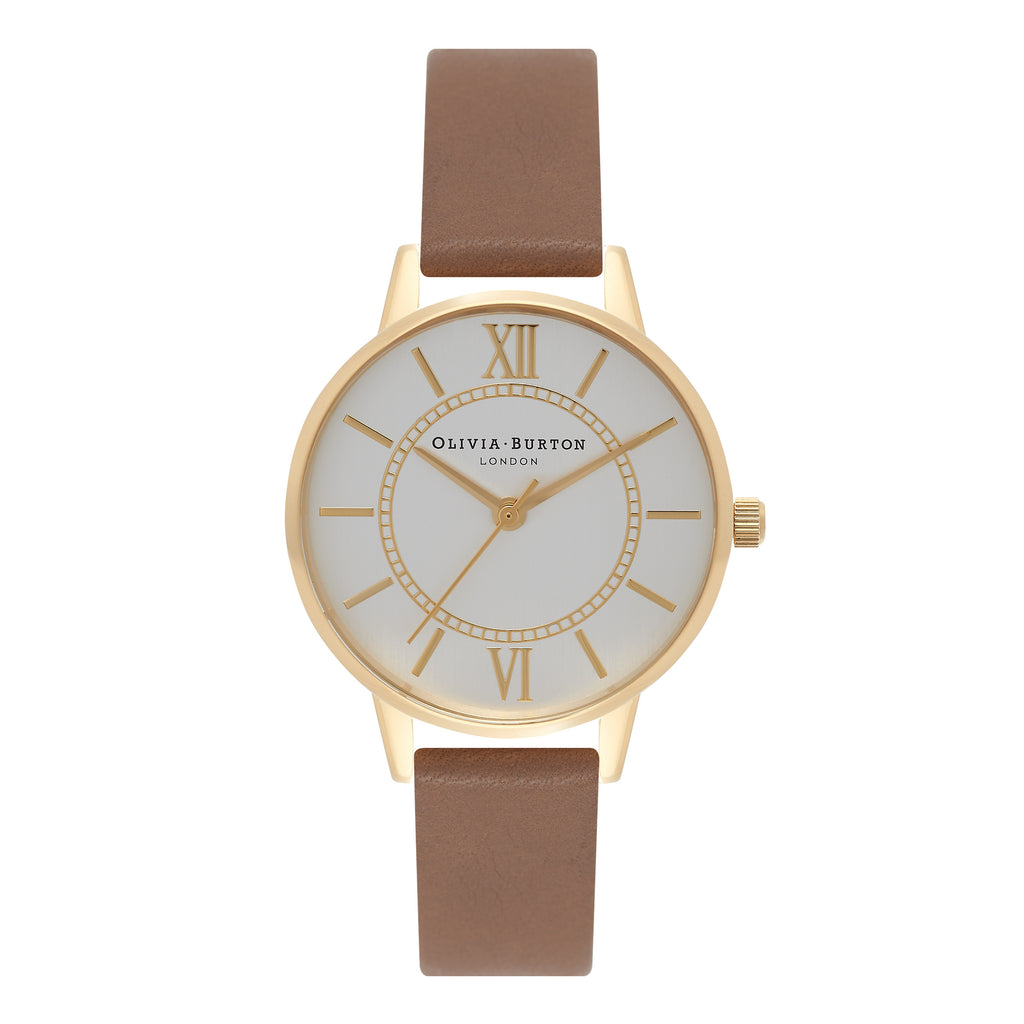 OLIVIA BURTON-Wonderland Taupe, Gold & Silver-Watch-OB15WD58-THE UNIT STORE