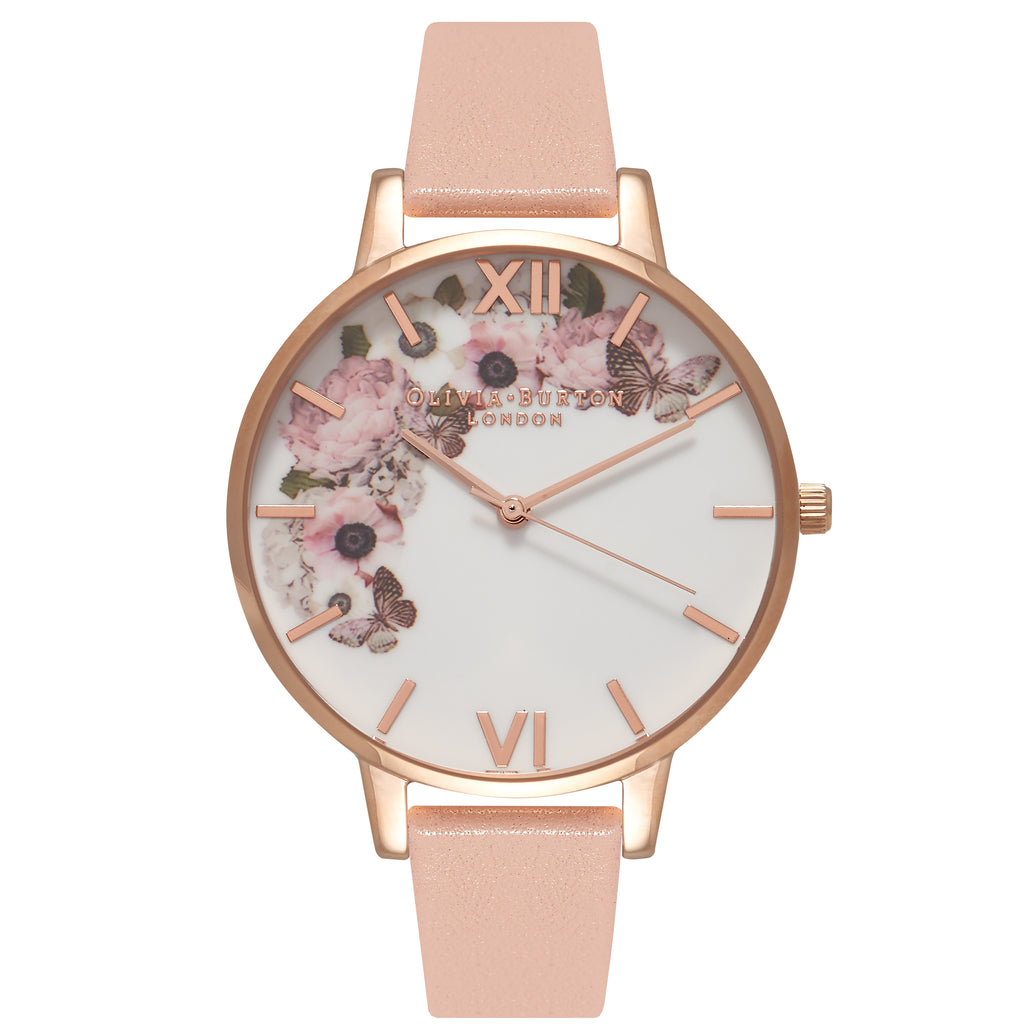 OLIVIA BURTON-Enchanted Garden Dusty Pink, White & Rose Gold-Watch-OB15WG10-THE UNIT STORE
