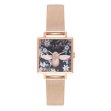 Bejewelled Florals Rose Gold Mesh__OLIVIA BURTON_Watch_THE UNIT STORE