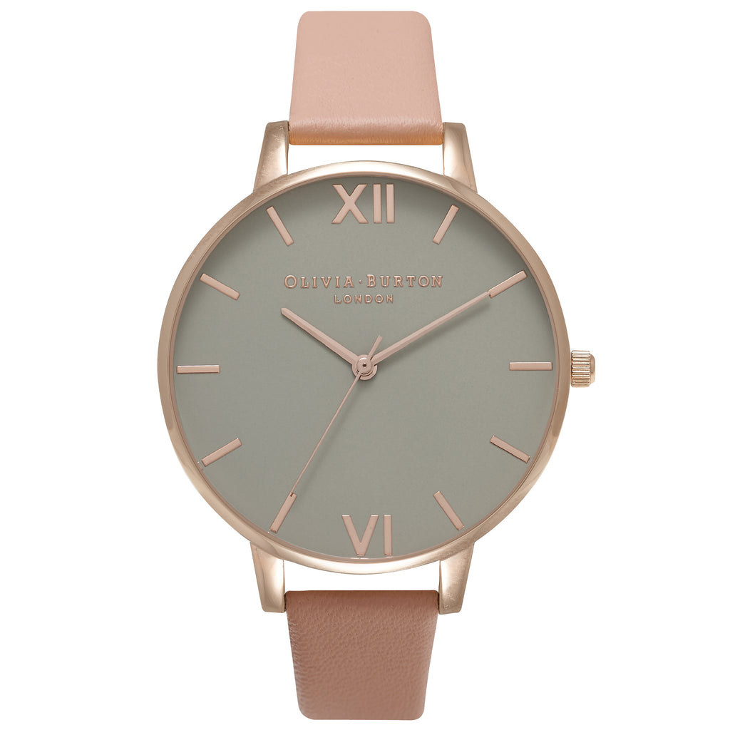 OLIVIA BURTON-Grey Dial Grey Dial, Dusty Pink & Rose Gold-Watch-OB16BD88-THE UNIT STORE