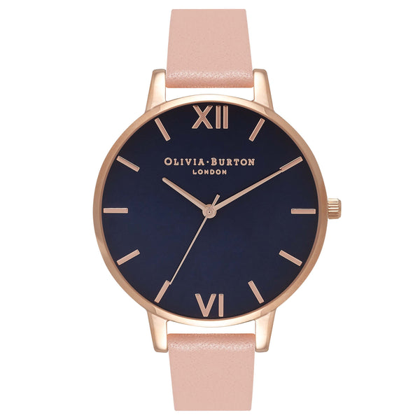 OLIVIA BURTON-Navy Meets Dusty Pink Midnight RG & Dusty Pink-Watch-OB16BD96-THE UNIT STORE
