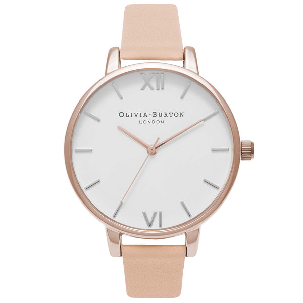 White Dial Big Dial Nude Peach & Rose Gold__OLIVIA BURTON_Watch_THE UNIT STORE