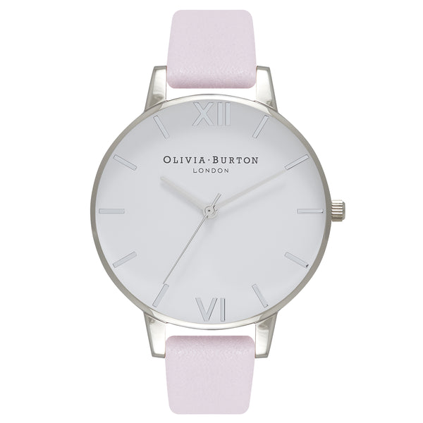 OLIVIA BURTON-White Dial Blossom & Silver-Watch-OB16BDW34-THE UNIT STORE