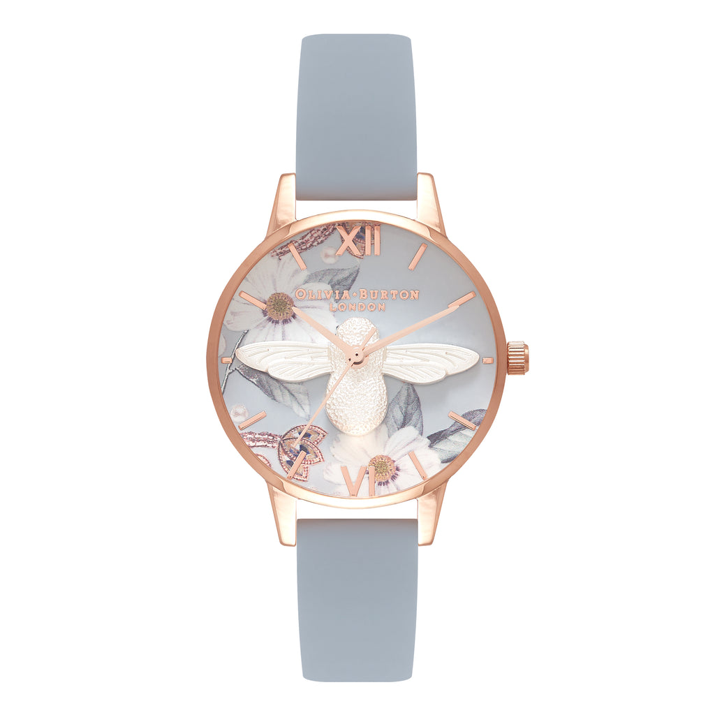 OLIVIA BURTON-Bejewelled Florals Chalk Blue Silver Rose Gold-Watch-OB16BF07-THE UNIT STORE