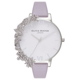 OLIVIA BURTON-Case Cuffs Grey Lilac & Silver-Watch-OB16CB05-THE UNIT STORE