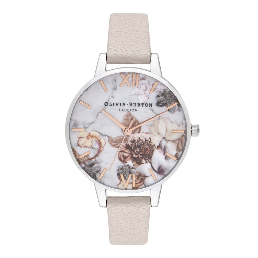 OLIVIA BURTON-Marble Florals Demi Pink, Rose Gold & Silver-Watch-OB16CS21-THE UNIT STORE