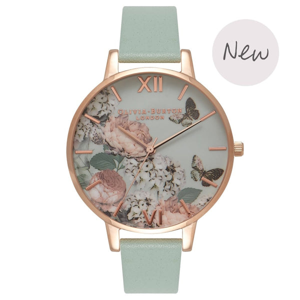Enchanted Garden Mint & Rose Gold
