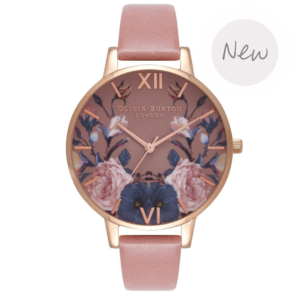 OLIVIA BURTON-Power Of Three Rose & Rose Gold-Watch-OB16EG74-THE UNIT STORE