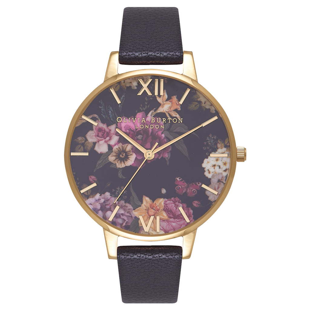 Dark Bouquet Black & Gold__OLIVIA BURTON_Watch_THE UNIT STORE