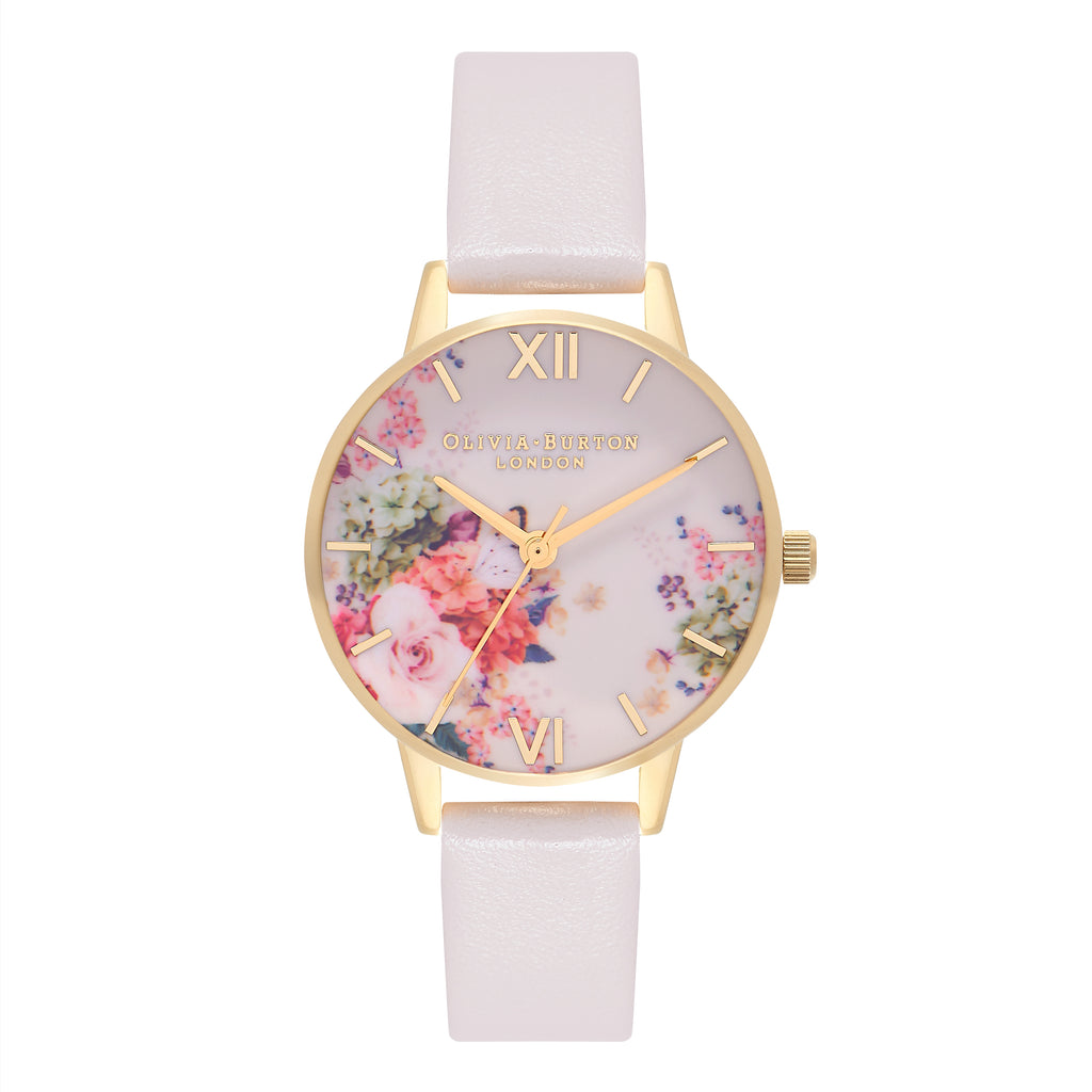 OLIVIA BURTON-Enchanted Garden Nude & Gold-Watch-OB16EG92-THE UNIT STORE
