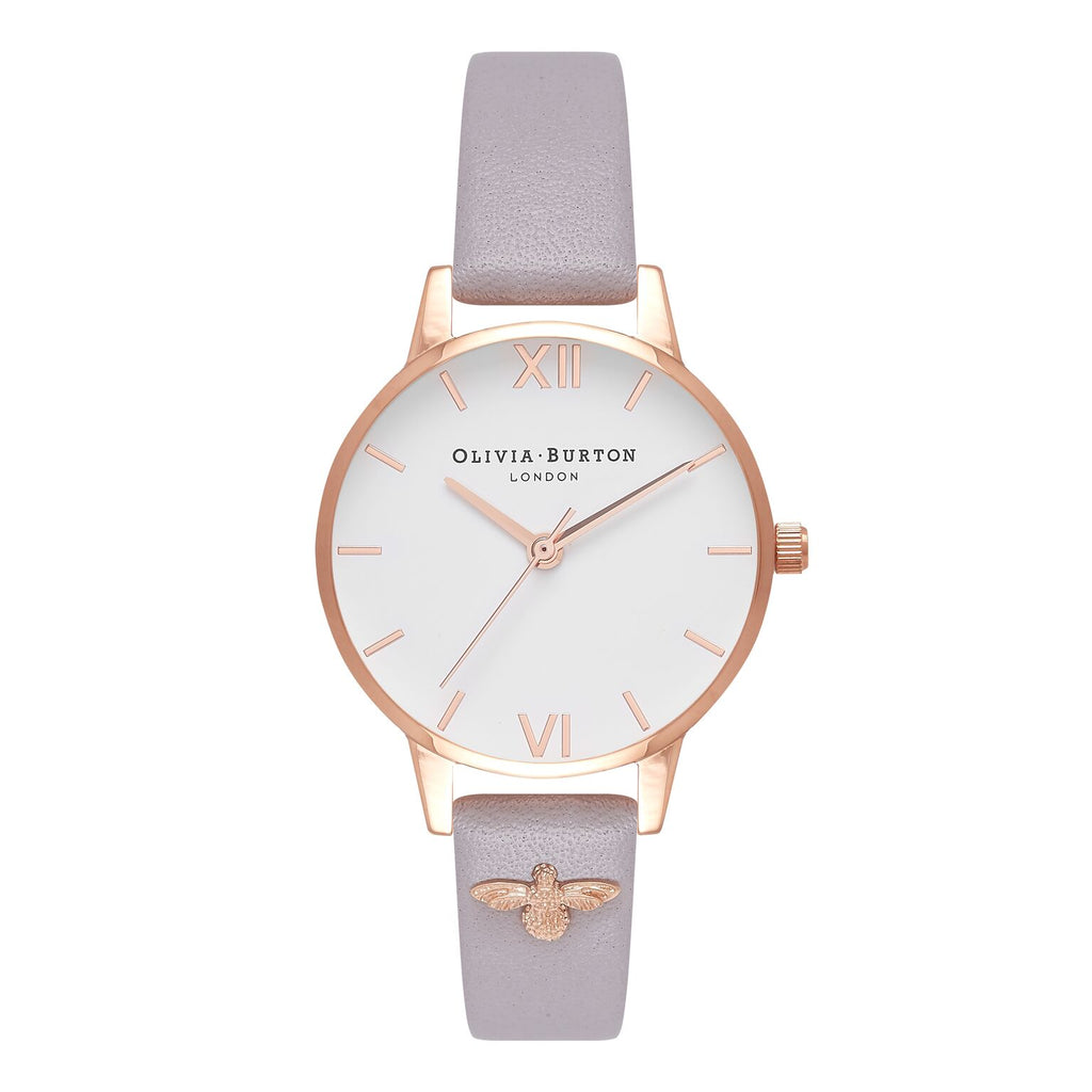 OLIVIA BURTON-Embellished Strap Grey Lilac & Rose Gold-Watch-OB16ES11-THE UNIT STORE