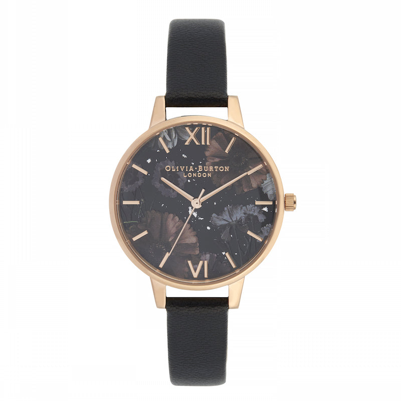 OLIVIA BURTON-Celestial Black & Rose Gold-Watch-OB16GD22-THE UNIT STORE