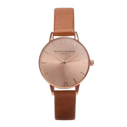 OLIVIA BURTON-Midi Dial Tan & Rose Gold-Watch-OB16MD64-THE UNIT STORE