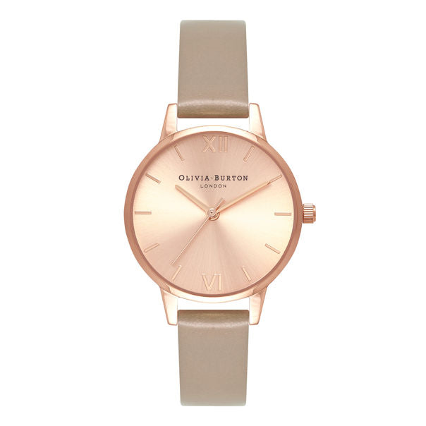 OLIVIA BURTON-Sunray Dial Midi Dial Sand & Rose Gold-Watch-OB16MD88-THE UNIT STORE