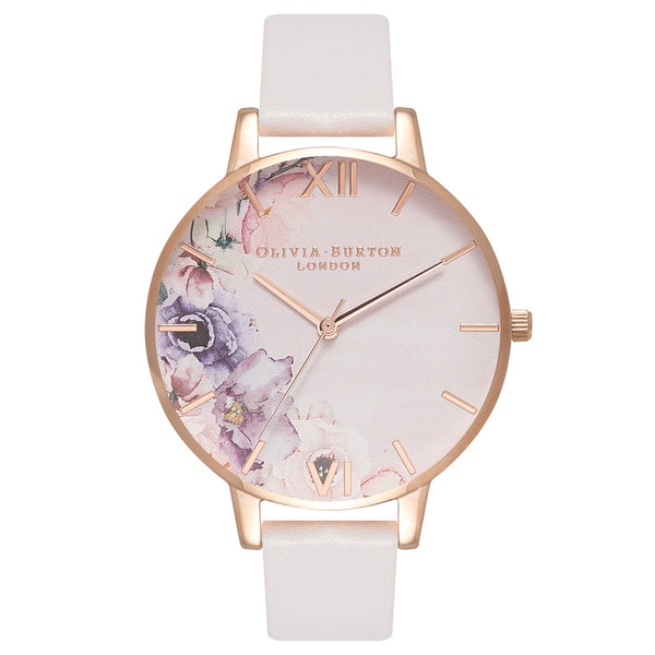 OLIVIA BURTON-Watercolour Florals Blush & Rose Gold-Watch-OB16PP31-THE UNIT STORE