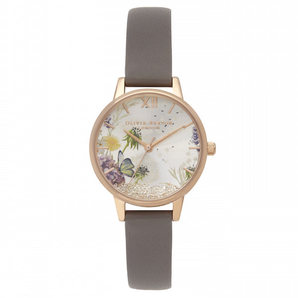 The Wishing Watch London Grey & Rose Gold__OLIVIA BURTON_Watch_THE UNIT STORE