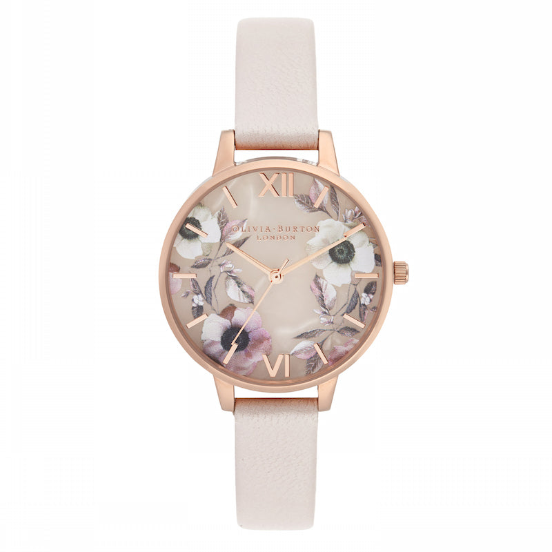 OLIVIA BURTON-Semi Precious Pearl Pink & Rose Gold-Watch-OB16SP14-THE UNIT STORE