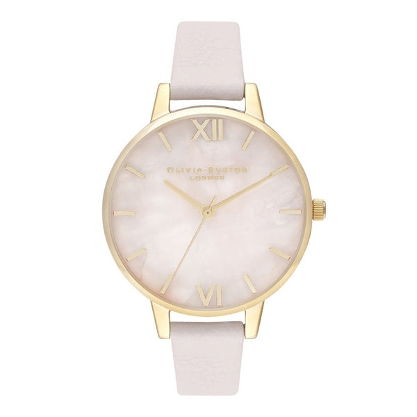 OLIVIA BURTON-Demi Rose Quartz Blossom & Gold-Watch-OB16SP20-THE UNIT STORE