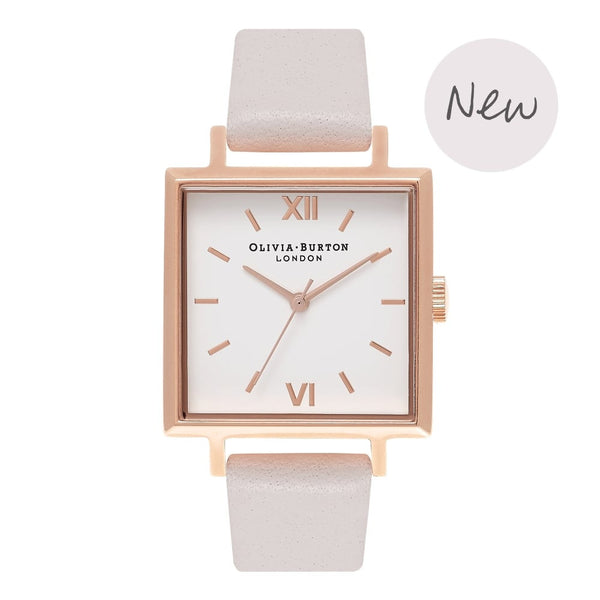 OLIVIA BURTON-Big Dial Square Dials Blush & Rose Gold-Watch-OB16SS15-THE UNIT STORE