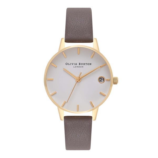 OLIVIA BURTON-The Dandy London Grey & Gold-Watch-OB16TD18-THE UNIT STORE