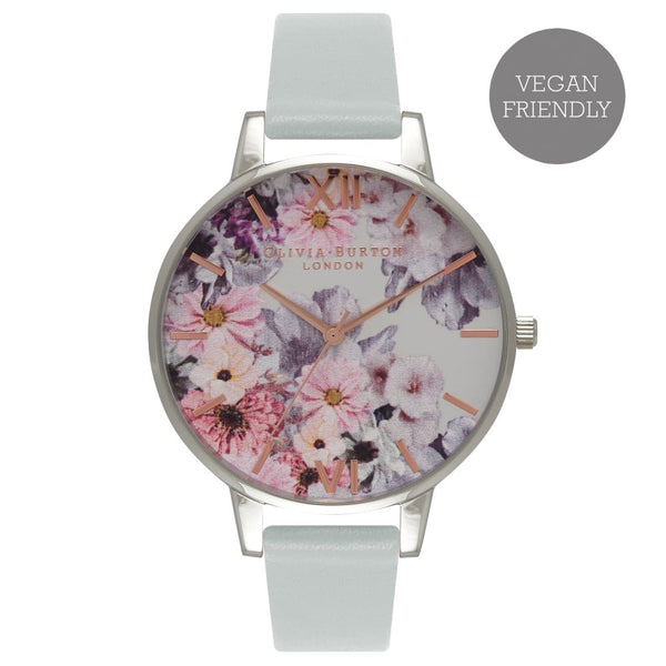 OLIVIA BURTON-Vegan Friendly Enchanted Garden, Grey & Silver-Watch-OB16VE03-THE UNIT STORE