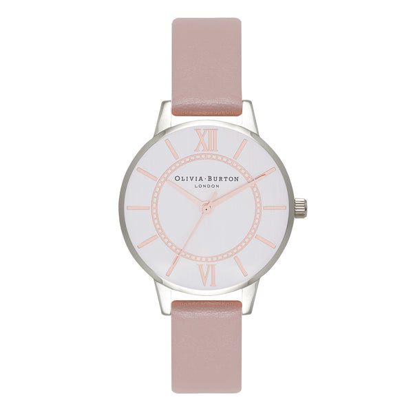 OLIVIA BURTON-Wonderland Blossom & Silver-Watch-OB16WD66-THE UNIT STORE