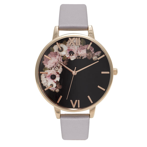 OLIVIA BURTON-Winter Garden Grey Lilac & Rose Gold-Watch-OB16WG19-THE UNIT STORE